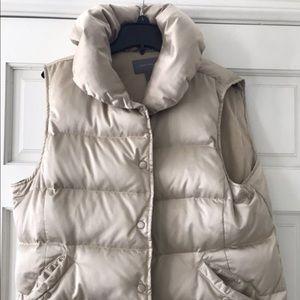 Ann Taylor puff vest